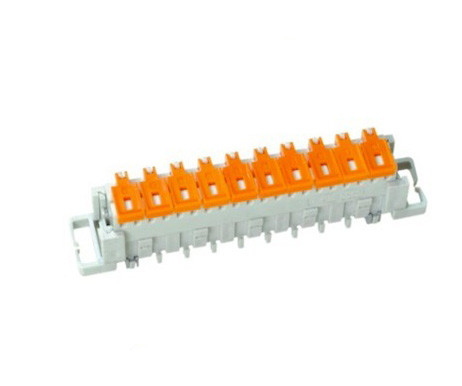 ABS / PBT LSA Plus Module Double Sided 10 Pair Krone Module Normal Closed