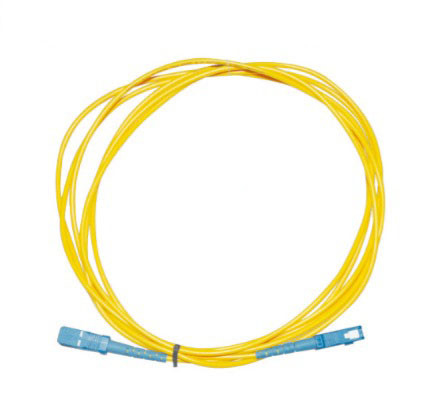 Single Mode Fiber Optic Cable , 2M 3M SC - SC Fiber Cable SM / MM For Test Equipment