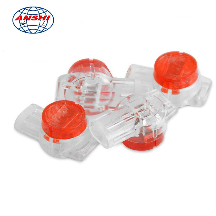 3M Standard UR HJKT3 Red Gel Filled Telephone Lock Joint Wiring Connector
